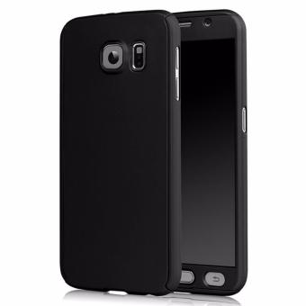 Ultra-Thin 360 Fullprotection Cover Case for Samsung Galaxy S6Edge(Black)