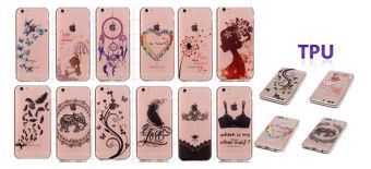 Ultra Thin Clear Soft TPU Phone Back Case Cover For Asus ZenFoneMax ZC550KL (Silhouette of A Girl) - 4