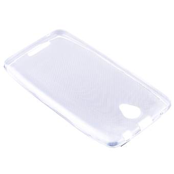 Ultra Thin Crystal Soft Silicone TPU Back Case for Lenovo A5000(Clear) - intl
