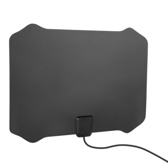 Ultra-thin High Gain Indoor Amplified TV Antenna with 16ft Cable 50Miles Range US Plug - intl - 5