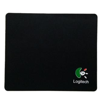 Ultra Thin Mouse Pad Mat Mice Natural rubber Mutispandex (Black)