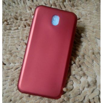 Ultra Thin Silicone TPU Case for Samsung Galaxy J7 Pro (Red)