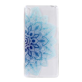Ultra-Thin Soft Flexible TPU Case for Sony Xperia XA (Pattern-4) -intl