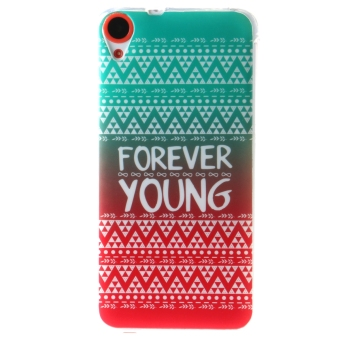 Ultra Thin Soft TPU Phone Back Case Cover For HTC Desire 820(FOREVER YOUNG) Price Philippines