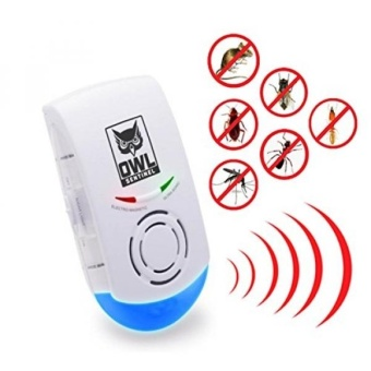 Ultrasonic Pest And Mouse Repeller by Owl Sentinel: HighlyEffective Insect, Bug & Rodent Electronic Repellent - SendsAway Mice, Spiders Etc Naturally, Without Odors,Chemicals, SpraysOr Lotions - intl