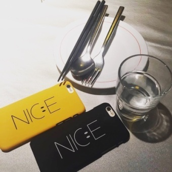 Ulzzang iphone6/iphone6plus/7 plus cool smiley phone case