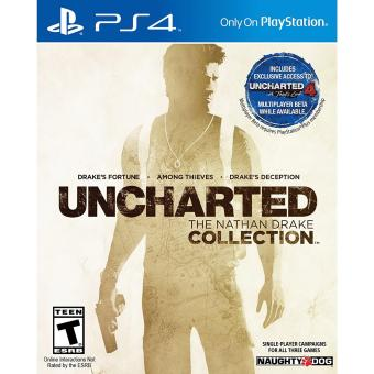 UNCHARTED THE NATHAN DRAKE COLLECTION PS4 GAME R3,R1 MINT CONDITION