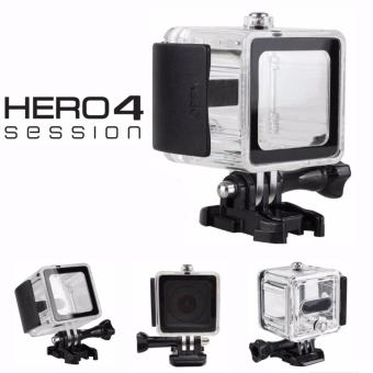 Underwater Waterproof case 45M for GoPro HERO 4 Session ActionCamera (Clear)