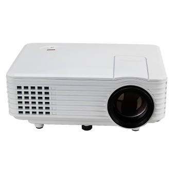 Unic Rd-805 Mini Led 800 Lumens Projector (White) With Free Vivo In-Ear Wired Headset Earphone (White)