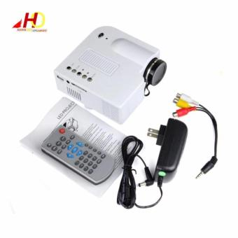 Unic UC28 Portable Mini Ultra HD Projector Cinema Streaming (White) - 2