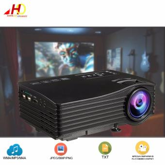 UNIC UC36 Mini LCD Home Theater Video Projector (Black)