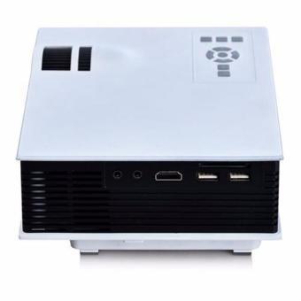 Unic UC40 Mini Portable Projector (White) - picture 3