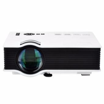 Unic UC40 Mini Portable Projector (White) - picture 2