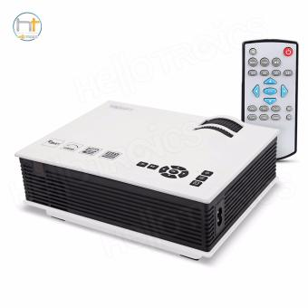 Unic UC40 Portable HD LED Projector Multimedia Player Cinema Streaming (White)