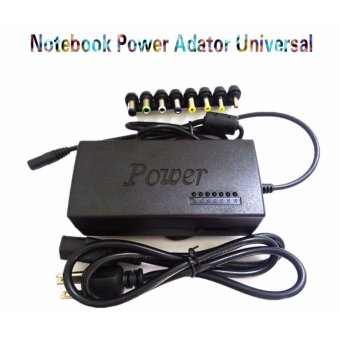 Universal 120W Power Adapter Charger 4.5A 12-24V Adjustable Voltagefor Laptop Notebook (Black)