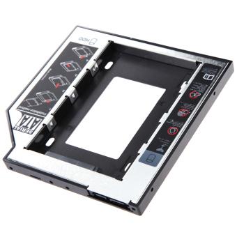 Universal 2.5 2nd 9.5mm Ssd Hd SATA Hard Disk Drive HDD Caddy Adapter Bay F - 4