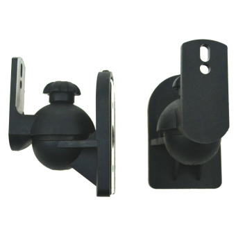 Universal Adjustable Surround Sound Wall Speaker Mount Bracket -Intl