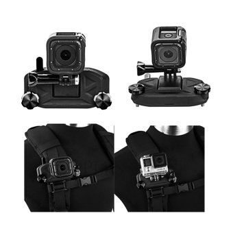 Universal BackPack Shoulder Strap Quick Release Clip Clamp For GoPro 5 4S 4 3+ 3 XiaoMi Yi SJCam Cameras - intl