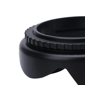 ... Universal Camera Petal Screw-On Lens Hood 55mm For Canon Nikon Son- intl ...