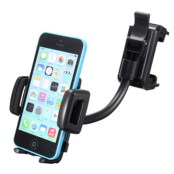 Universal Car Rear View Mirror Mount Stand Holder For Smartphone