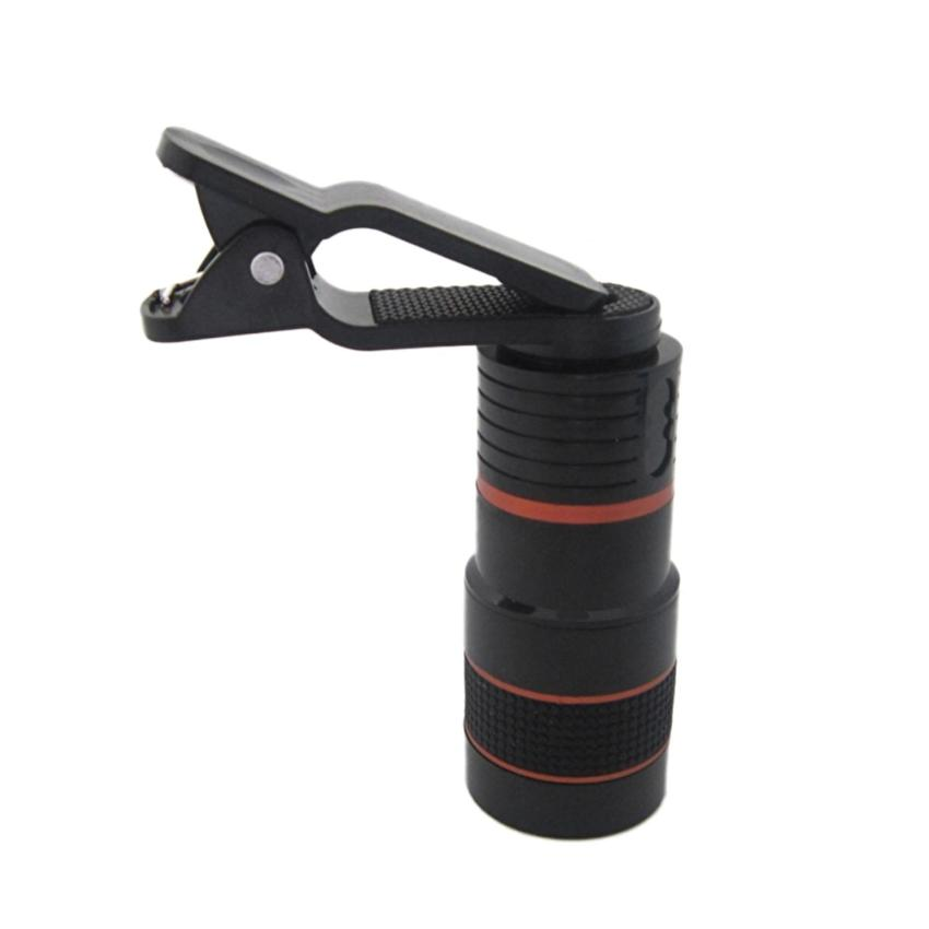 Universal Clip-on 8x Zoom Camera Lens Telescope Telephoto forMobile Phone