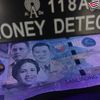 Universal Electronic UV light Fake Counterfeit Money Detector - 3