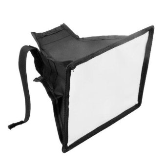 Universal Foldable Soft Box Flash Diffuser Softbox for Canon NikonSony - Intl