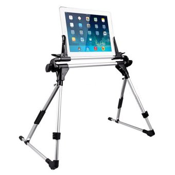 Universal Portable Tablet Bed Frame Holder Stand for Ipad Mini 1 2 3 Air 2 iPhone Samsung Galaxy Tablet PC Stands - intl