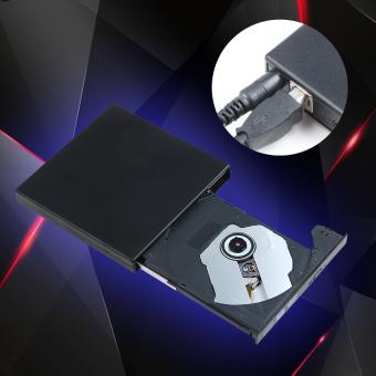 USB 2.0 External CD-RW/DVD-RW Burner Drive for PC,Mac,Laptop,Netbook (Black) - 2