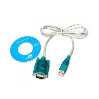 USB 2.0 to RS232 Serial 9 Pin DB9 Cable