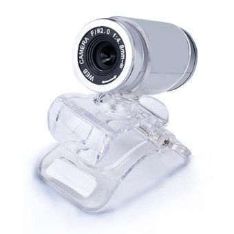 USB 50MP HD Webcam Web Cam Camera for Computer PC Laptop DesktopSilver