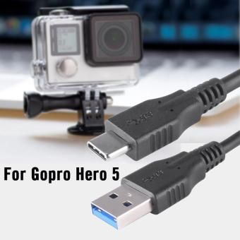 USB Charger Cable Data Transmission Wire for GoPro Hero 5 Action Camera OS838 - intl