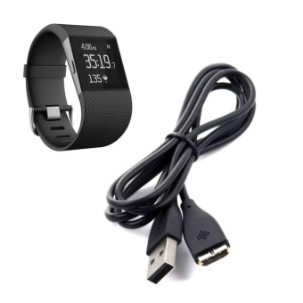 USB Charging Cable Charger for Fitbit Surge Fitness Watch Wristband- intl