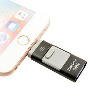 USB Flash Drive, 64GB External Storage U-disk Connector for IPhone5/5s/5c/6/6 Plus/6s/6s Plus, IPad Mini 1/2/3/4, IPad Air/Air 2,IPad Pro - intl - 2