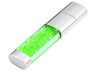 USB Flash Drive 64GB USB 2.0 Disk U Disk Flash Drive Diamond (Yellow) - Intl