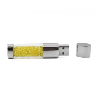 USB Flash Drive 64GB USB 2.0 Disk U Disk Flash Drive Diamond (Yellow) - Intl - picture 2