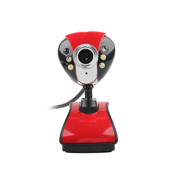 USB LED Night Vision Webcam Camera Web Cam