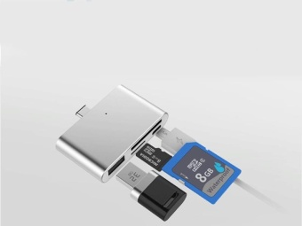 USB Mobile Phone Card reader New OTG Type-C interface Flash Drive 5G/bps - intl