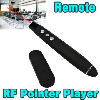 USB Power Point PPT Presenter Remote Control Wireless Laser RFPointer Pen - intl Price Philippines