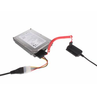 USB to ide 3.5/2.5/SATA Hard Drive Converter Cable with power supply - 2