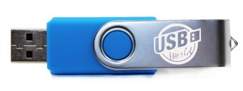 USB World Excel 32GB Flash Drive (Emerald) - picture 2