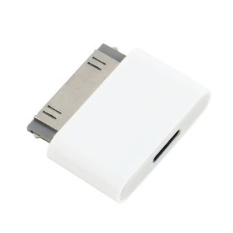 USTORE 30 Pin Docking Male to 8 Pin Female Data Adapter For ForiPhone 4 4S For iPad 2 3 - intl
