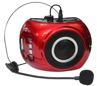 V-25 Portable Voice Amplifier (Red) Price Philippines