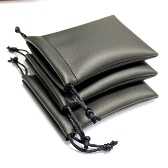 V & Z mini protective storage leather bag headset pouch