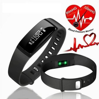 V07 smart watch band blood pressure Heart Rate Monitor Wireless Fitness Bracelet For Android And IOS - intl