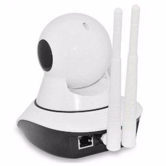 V380+ Wifi Wi-Fi wireless 1080P HD IP SECURITY CAMERA (White) - 2