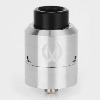 Vandy Vape Govad RDA Rebuildable Dripping Atomizer - Silver, Stainless Steel, 24mm Diameter 1:1