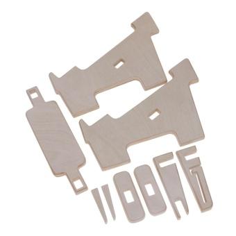 Vanker-Wooden Radiating Dock Holder Stand Heat Dissipation ForLaptop iPad MacBook Cell Phone - intl - 5
