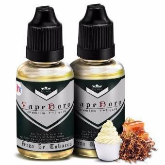 Vapeboro Premium E-Juice for Electronic Cigarette 30ml 6mg NicotineLevel Set of 2 (Freza De Tobacco)