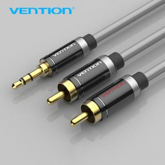 Vention 3.5mm Jack Male to Male 2RCA Audio Cable Alumium ShellDouble Shield Aux Cable